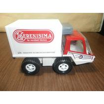 Hermoso Camion De La Serenisima De Chapa Y Plastico