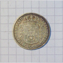 Brasil 160 Reis Plata 1780 Muy Linda Y Rara