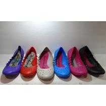 Zapatos Chatas Zapatillas De Goma Mujer