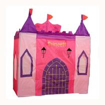 Castillo Plegable Para Niñas - Princesas Pelotero
