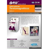 Termica  Termomagnetica - Baw 2x 10; 15; 20a