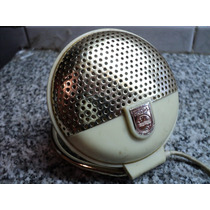 Antiguo Microfono Philips El3750 1956 Holanda Audio Vintage