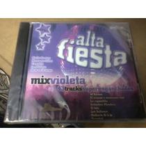 Cd Alta Fiesta Mix Violeta 2008 Varios Artistas - La Plata