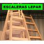 Escalera De Madera 4 Escalones Reforzada. Tipo Pintor