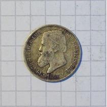 Brasil 200 Reis Plata 1868