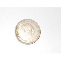 Moneda 5 Pesetas España 1957 Franco