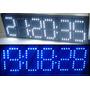 Reloj Led - Temperatura - Alarmas - Cronometro - Exterior