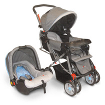 Cochecito Bebé Love Art 232 Travel System Ultra Compacto
