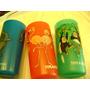 3 Vasos Plasticos Temaiken Mono Cigûena Y Tiburón