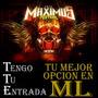 Entradas Maximus - Rammstein 10/9 Ciudad Del Rock
