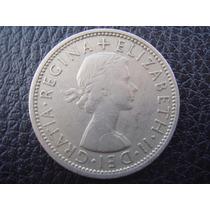 Gran Bretaña - Moneda De 2 Shillings, Año 1967 - Muy Bueno