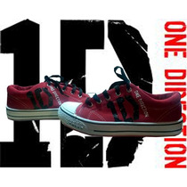 Zapatilla Pintadas/customizadas Personalizadas One Direction