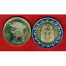 Egipto Monedas De Cleopatra Y Tutankamon - Sin Circular -