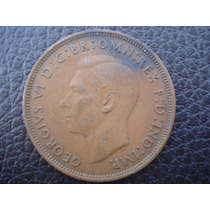 Gran Bretaña - Moneda De 1 Penny, Año 1938 - Muy Bueno