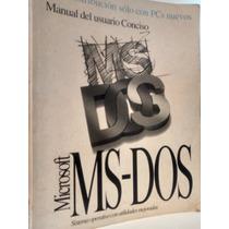 Microsoft Ms-dos Manual Del Usuario Conciso