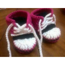 Zapatillas Bebe Crochet