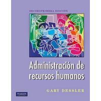 Administracion De Recursos Humanos - Dessler 11 Ed - Digital