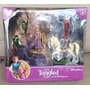 Play Set 5 Muñecos De Enredados Tangled Disney