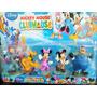 Set X 5 Muñecos Mickey Mouse, Pedro, Minnie, Pluto Y Goofy