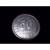 Moneda Argentina 50 Centavos 1953 Excelente !!