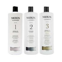 Shampoo Nioxin X 1000 Wella Cabello Teñido,con Caída, Dañado