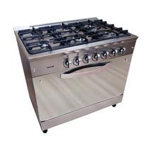 Cocina Usman Semi Industrial 90cm Mirror 6 Hornallas