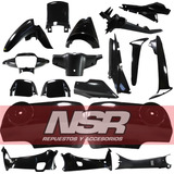 Kit De Plasticos Honda Wave 100/110 18 Cachas Carenados Nsr