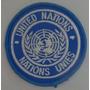 Escudo Parche Naciones Unidas En Tela