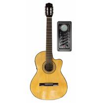 Guitarra Clasica Criolla Gracia M6 C/ Afinador Y Eq 4 Bandas