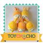 Lote X 2 Conejitos!divinos!!capucha De Ananá O De Naranja