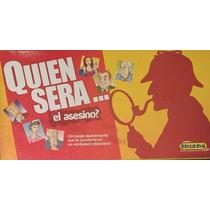 ¿quien Sera El Asesino - Juego De Mesa - Estilo Clue