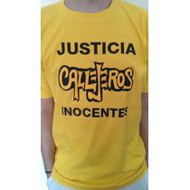 Remera Callejero Inocentes Casi Justicia Social Envio Gratis