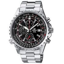 Reloj Casio Edifice Ef-527d-1av Cronometro 1/20 Taquimetro