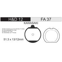 Pastilla Freno Fa 037 Hd12 Kawa 200/440/650/750