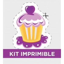 Kit Imprimible Dulces Personalizado Para Cumple