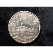 España Moneda 2000 Pesetas 1994 Plata 900.f8/15