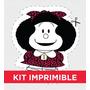 Kit Imprimible Mafalda Personalizado Para Cumple