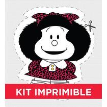 Kit Imprimible Mafalda Cumple Golosinas Invitacion Deco
