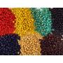 Bolitas De Madera De Colores Pack 1/2 Kilo
