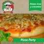 Pizza Party Croccanti - A Domicilio Para Eventos/fiestas