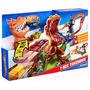 Pista Hot Wheels Duelo De T Rex Takedown Original Mattel