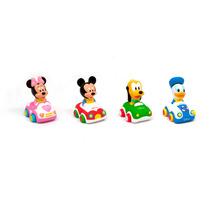 Autito De Arrastre Soft Mickey Minnie Donald Pluto Disney