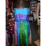 Vestido Hindu Tela Traslucida.colores T M. San Isidro