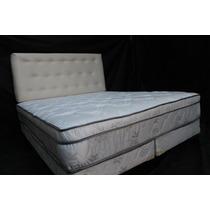 Colchon+sommier King Size 2.00x2.00 + Pillow + Respaldo