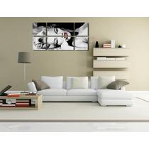 Bastidor Marilyn Monroe En Canvas120 X 60 Cm En 6 Partes.