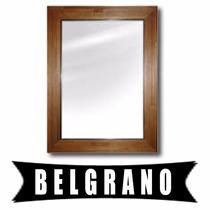 Espejo Marco Madera Decoracion Living Hogar Baño En Belgrano