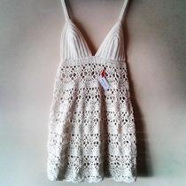 Tejidos Artesanales A Crochet: Top - Vestido Con Corpiño!