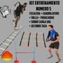 Kit Entrenamiento 5 Escalera Paracaidas Sobrecarga Valla Etc
