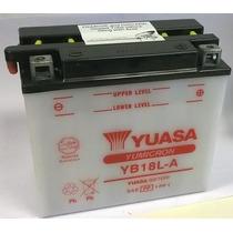 Bateria Motos Yuasa Yb18l-a 12v18ah +acido Kawasaki Honda