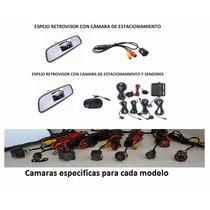 Espejo Retrovisor C/camara Y Sensor Chev Agile C/colocacion